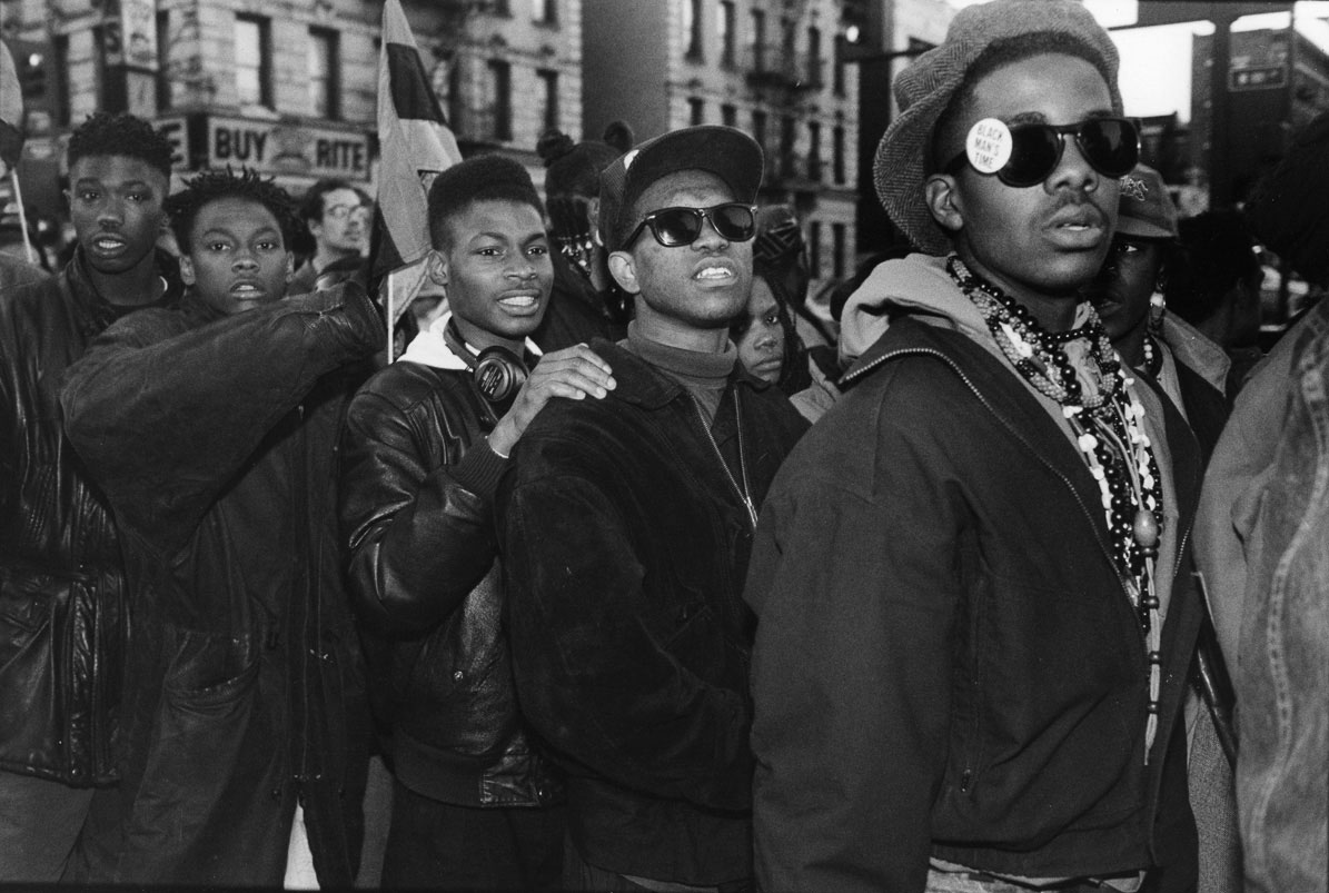 Harlem 1990 the december 12th movement organized several protests against columbia universitys plan to demolish the audubon ballroom the site of malcolm